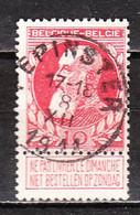 74  Grosse Barbe - Bonne Valeur - Oblit. Centrale PEPINSTER - LOOK!!!! - 1905 Thick Beard