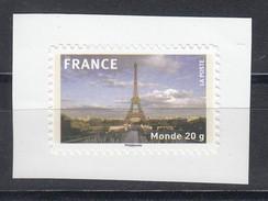 Tour Eiffel AUTO ADHESIF N° 335a, 2009  Neuf **   Grande Marge - Adhésifs (autocollants)