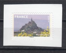 Mont Saint Michel, AUTO ADHESIF N° 334a, 2009  Neuf **   Grande Marge - Adhésifs (autocollants)