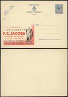 """Publibel N°989 """"Chicorei Chicorée F.C. Jacobs"""" / Neuf. 90ctm Bleu Lion Héraldique. - Publibels"""