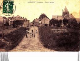 08  : Ardennes  :   Alland ' Huy . Rue De La Gare . - Other Municipalities