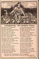 ! Liebesgaben Ansichtskarte, Propaganda, 1. Weltkrieg, Guerre 1916, Feldpost, Hanau - Guerra 1914-18