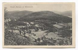 NEUHAUS WIENERWALD - AUSTRIA, K.u.K. SEAL RESERVE SPITAL,  Year 1916. - Sonstige