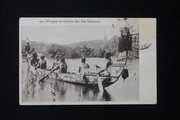 SALOMON - Carte Postale - Pirogue De Guerre Des Îles Salomon - L 82212 - Solomon Islands