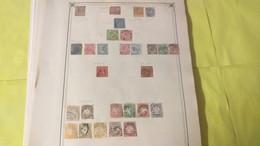 Lot N° TH 121 ALLEMAGNE + AUTRICHE Neufs X Ou Obl. Sur Page D'albums - Sammlungen (im Alben)