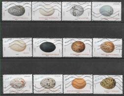 2020 FRANCE Adhesif 1839-50 Oblitérés, Oeufs, Série Complète - Adhésifs (autocollants)