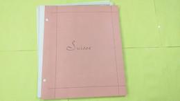 Lot N° TH 118 SUISSE Un Bon Lot Sur Page D'albums Neufs Et Obl. - Sammlungen (im Alben)