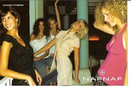 CPM - PUB NAF NAF - GOOD TIMES - Advertising