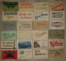 Lot 25 Carnets + De 360 Cartes Postales - France, Monaco, Monte Carlo, Cannes, Juan Les Pins, Grenoble, Rocamadour.... - 100 - 499 Cartoline