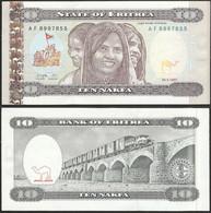 ERITREA - 10 Nafka 1997 P# 3 Africa Banknote - Edelweiss Coins - Eritrea