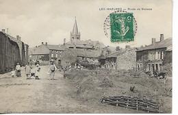 Ardennes LES MAZURES Route De Renwez  Animation 1911      ..G - Otros Municipios