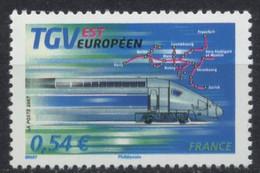 N° 4061 TGV Est Européen Faciale 0,54 € - Ongebruikt