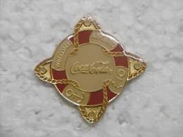 Pin's - COCA-COLA WELCOME A BOARD - Pin Badge COCA COLA 1990 - Coca-Cola