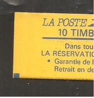 France, 2376-C11, SANS POINT Devant Retrait, Carnet Neuf **, Non Ouvert, TTB, Réservation Gratuite, Carnet Liberté - Uso Corrente