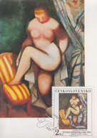 Carte  Maximum  1er  Jour    TCHECOSLOVAQUIE    Oeuvre  De    KREMLICKA    1982 - Sin Clasificación
