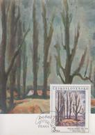 Carte  Maximum  1er  Jour    TCHECOSLOVAQUIE    Oeuvre  De   RABAS    1985 - Sin Clasificación