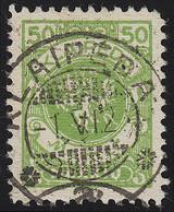 Memel 145 Wappenreiter 50 M 1923, Gestempelt - Klaïpeda