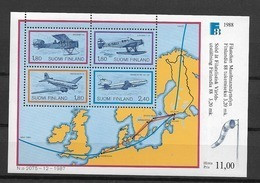 1988 MNH Finland Block 4 - Blocks & Sheetlets