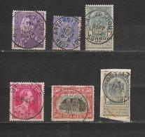 Postzegels Gestempeld - Luftpost