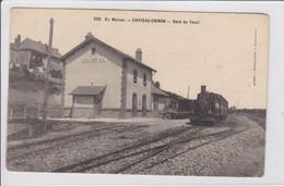 CHATEAU-CHINON * Gare Du Tacot - CPA En Très Bon état - Chateau Chinon