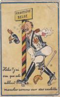 OORLOG / GUERRE 1914-18 / FRONTIERE BELGE - War 1914-18
