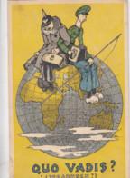 OORLOG / GUERRE 1914-18 / QUO VADIS - Guerra 1914-18