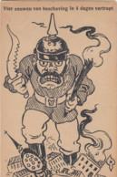 OORLOG / GUERRE 1914-18 / BESCHAVING / CIVILATION - Guerra 1914-18