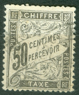 France Yvert 20 Ob B/TB - 1859-1955 Used