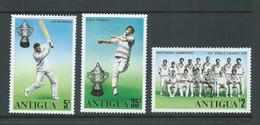 Bermuda 1976 Cricket Match Anniversary Set Of 4 MNH - Bermudas