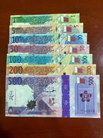 New! Qatar 2020 Complete 500 200 100 50 10 5 1 Set - Qatar