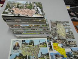 Cartes Avec Département . Lot  De 200 Cartes - Non Classificati