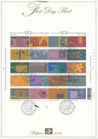 First Day Sheet 2002   COB  BL 99 - Usados
