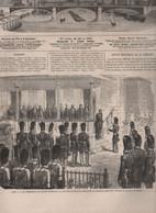 L'ILLUSTRATION 01 08 1863 - VICHY DRAPEAUX MEXICAINS - PONDICHERY JAGRENAT TIROUNALAR - PHOTOGRAPHIE - SUEZ PERIM ADEN - 1850 - 1899