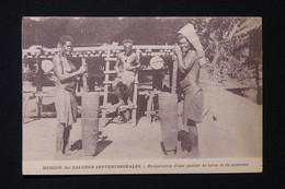 SALOMON - Carte Postale - Préparation D'une Galette De Taros Et De Noisettes - L 82258 - Solomon Islands