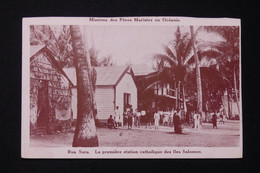 SALOMON - Carte Postale - Rua Sura - La Première Station Catholique Des Îles Salomon - L 82260 - Solomon Islands