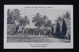 SALOMON - Carte Postale - Bougainville - La Place Du Village - L 82261 - Solomon Islands