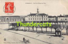 CPA 55 COMMERCY PLACE DE L'HOTEL DE VILLE - Commercy