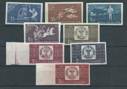 Rumänien 1750/1757 B ** - Nuevos