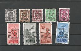 OCB 798 ==> 806 * Postfris Met Scharnier - Unused Stamps
