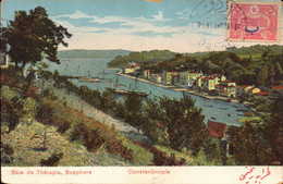 Turquie, Constantinople, Bosphore, Baie De Therapia, + Timbre       (bon Etat) - Turkey