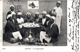Thematiques Egypte Le Repas Arabe Timbre - Ohne Zuordnung