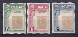 Malta: 1960   Stamp Centenary    MH - Malta (...-1964)
