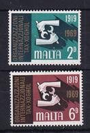 Malta: 1969   50th Anniv Of I.L.O.    MNH - Malta