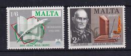 Malta: 1971   Literary Anniversaries   MNH - Malta