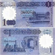 LIBYA        1 Dinar        P-New         ND (2019)         UNC - Libia