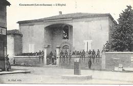 47-Cocumont-l'Hôpital -carte Neuve Dos Vierge - Other Municipalities