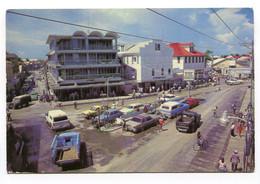 Belize - Belize City - Street Scene - Cars - Belize
