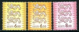 ESTONIA 2000 Arms Definitive 6.00, 6.50,  8.00 Kr.  MNH / **.  Michel 381-83 - Estonia