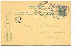 SH 0757. CPRP 84 III-M1 (complète) MALMEDY 6.6.31 Vers Etterbeek (Christiaens - Sans Correspondance). SBEP = 60,00. TB - Postcards [1909-34]