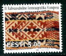 ESTONIA 2000 Finno-Ugric Congress  MNH / **.  Michel 375 - Estonia